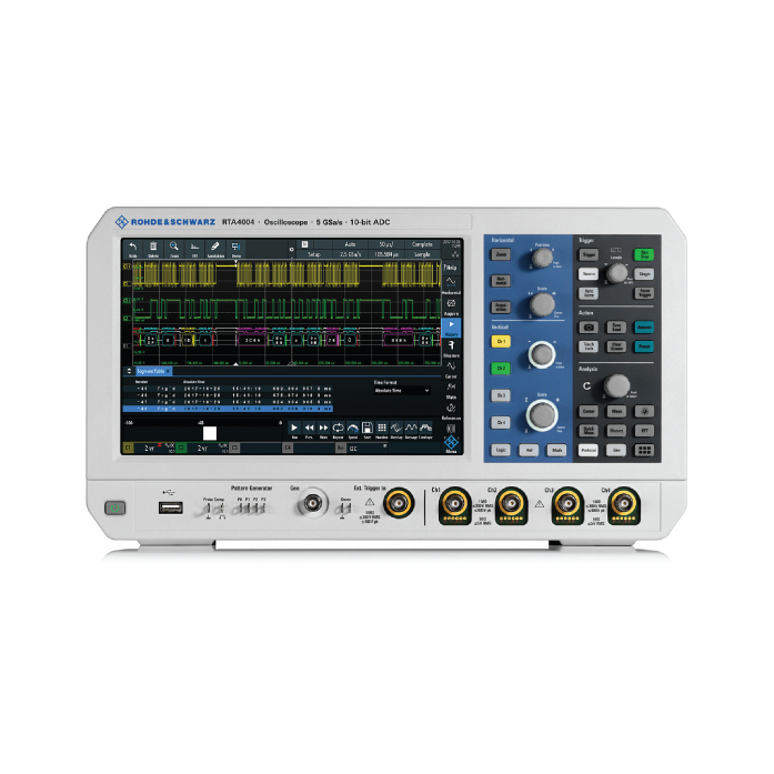 R&S®RTA4000 Oscilloscope